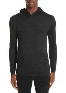 John Varvatos Houndstooth Merino Wool Sweater