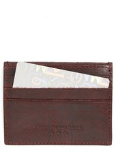 John Varvatos Collection Leather Card Case