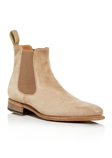 John Varvatos Collection Men's Amsterdam Suede Chelsea Boots