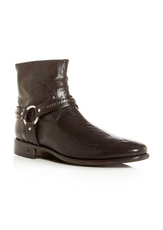 John Varvatos Collection Men's Eldridge Leather Harness Boots