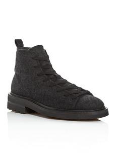 John Varvatos Collection Men's Essex Felted Wool Trooper Boots