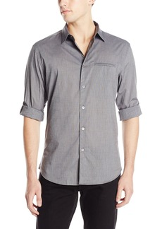 John Varvatos Collection Men's Roll Up Long Sleeve Button Down Shirt