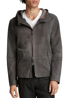 John Varvatos Collection Sheep Skin Regular Fit Jacket