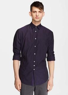 John Varvatos Collection Slim Fit Microcheck Shirt