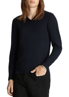 John Varvatos Collection Slim Fit V-Neck Sweater