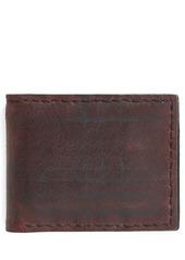 John Varvatos Collection Slim Leather Bifold Wallet