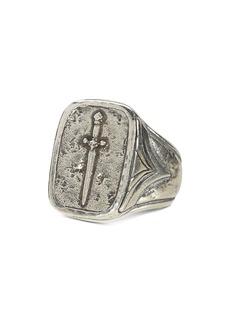 John Varvatos Collection Sterling Silver Dagger Ring