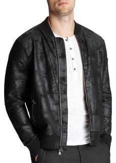 John Varvatos Collection Textured Regular Fit Jacket