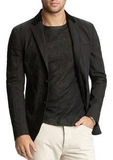 John Varvatos Collection Textured Slim Fit Jacket