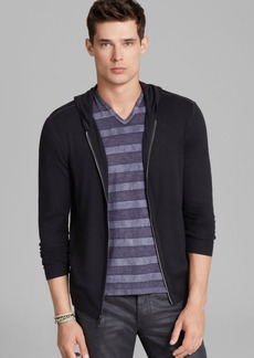John Varvatos Collection Zip Hoodie Sweater