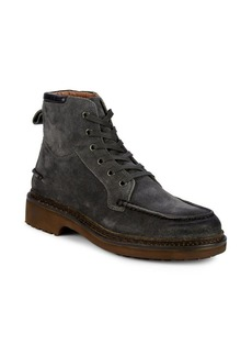 John Varvatos Cooper Leather Lace-Up Boots