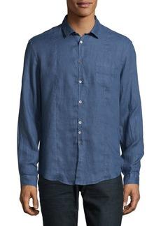 John Varvatos Cotton Casual Button Down Shirt