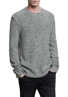 John Varvatos Donegal Wool Blend Crewneck Sweater