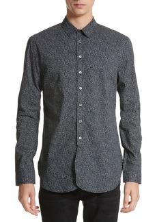 John Varvatos Collection Dot Print Shirt