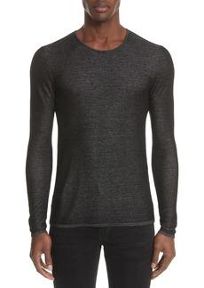 John Varvatos Collection Double Knit Sweater