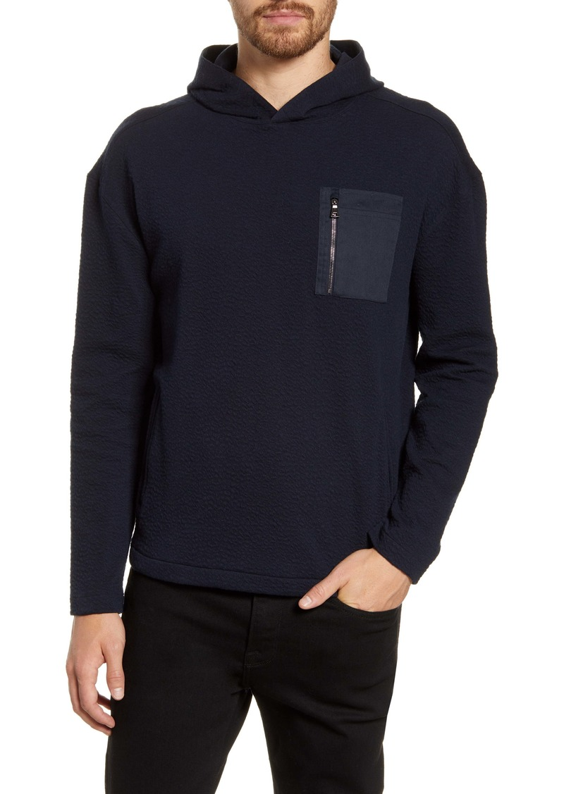 John Varvatos Easy Fit Fleece Hoodie