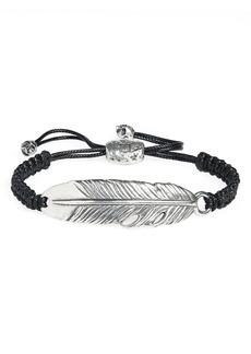 John Varvatos Feather Bracelet