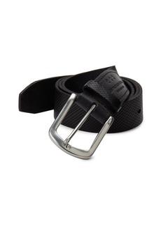 John Varvatos Five-Notch Leather Belt