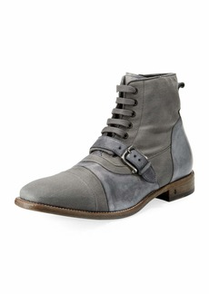 John Varvatos Fleetwood Buckle Cricket Boot