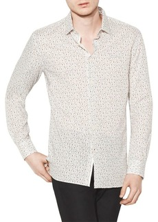 John Varvatos Floral Printed Button-Down Shirt