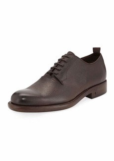John Varvatos Fulton Grained Leather Oxford Shoe