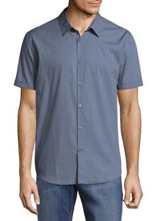 John Varvatos Gingham Button-Down Shirt