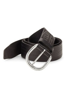 John Varvatos Hand Burnished Belt