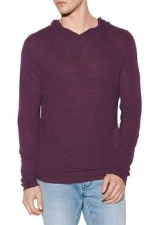 John Varvatos Hooded Long Sleeve Shirt