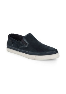 John Varvatos Jet Suede Slip-On Sneakers