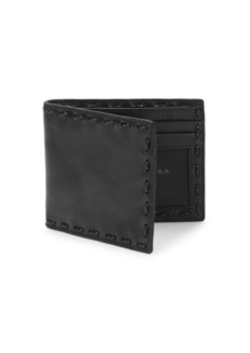 John Varvatos Leather Continental Wallet