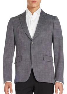 John Varvatos Long Sleeve Front Button Coat