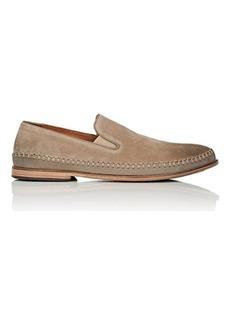 John Varvatos Men's Amalfi Suede & Leather Venetian Loafers