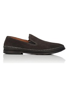 John Varvatos Men's Amalfi Suede & Leather Venetian Loafers