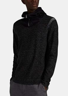 John Varvatos Men's Cotton-Blend Half-Zip Hoodie