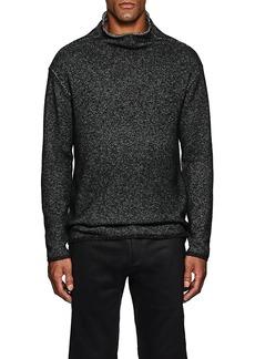 John Varvatos Men's Cotton-Blend Mock Turtleneck Sweater