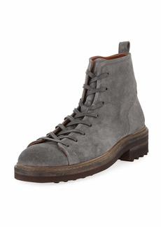 John Varvatos Men's Essex Trooper Suede Boots