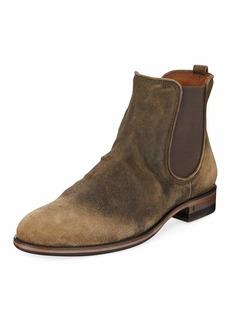 John Varvatos Men's Fleetwood Suede Chelsea Boots