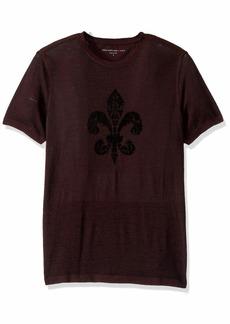 John Varvatos Men's Fleur DE LIS T-Shirt  XXL