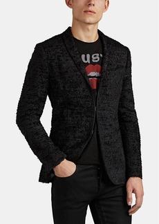 John Varvatos Men's Frayed Hook-And-Bar Sportcoat