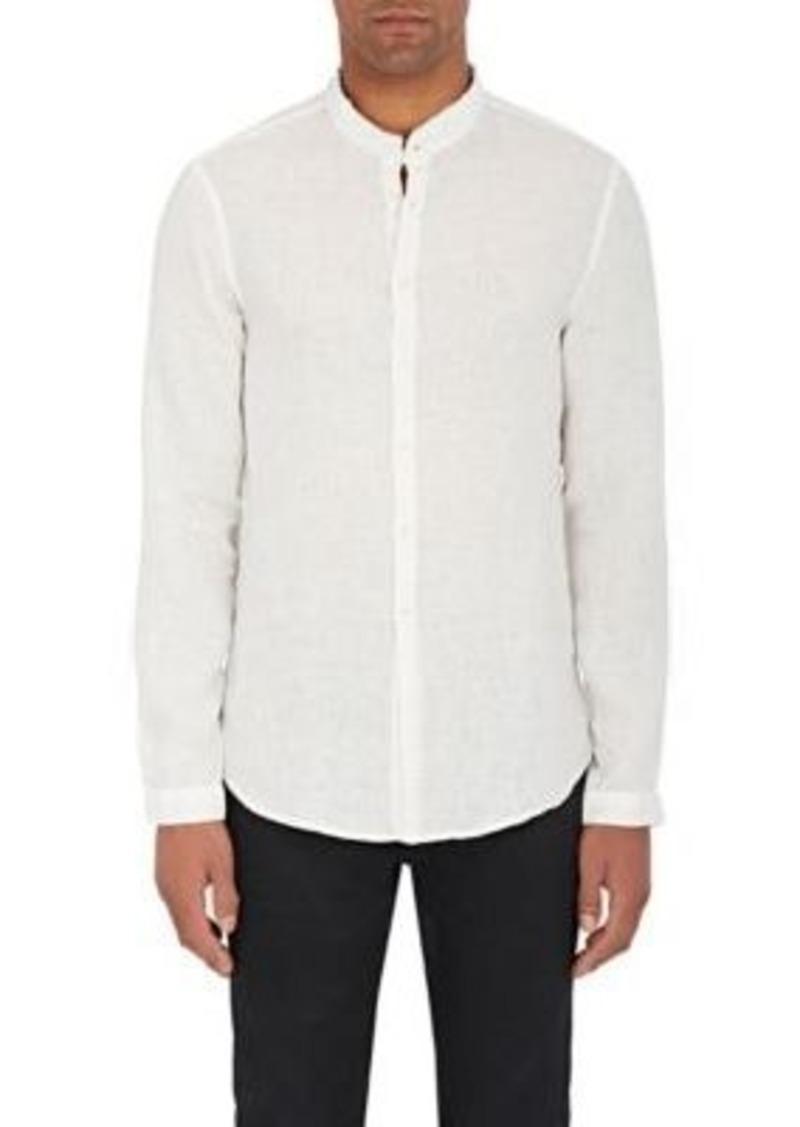 John Varvatos John Varvatos Men s Linen Slim-Fit Tunic Shirt ... 65ab81343