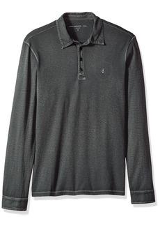 John Varvatos Men's Long Sleeved Polo AQP4B 012