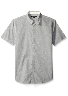 John Varvatos Men's Mayfield Short Sleeve Slim Fit Shirt