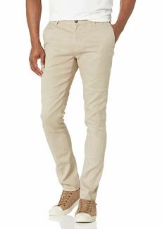 John Varvatos Men's Motor City Zip Fly Low Rise Slim FIT Jean