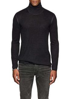 John Varvatos Men's Silk-Cashmere Turtleneck Sweater