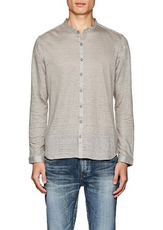 John Varvatos Men's Slub Linen Shirt