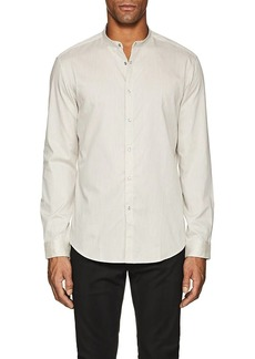 John Varvatos Men's Striped Cotton Tunic Shirt
