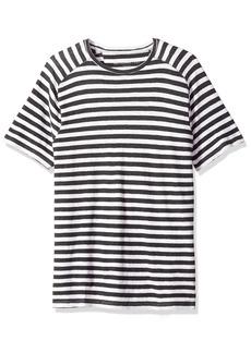John Varvatos Men's Striped Short Sleeve Shirt