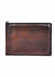 John Varvatos Men's Thin Sleek Money Clip Bifold Wallet with 6 Card Holders