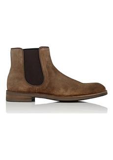 John Varvatos Men's Varick Suede Chelsea Boots