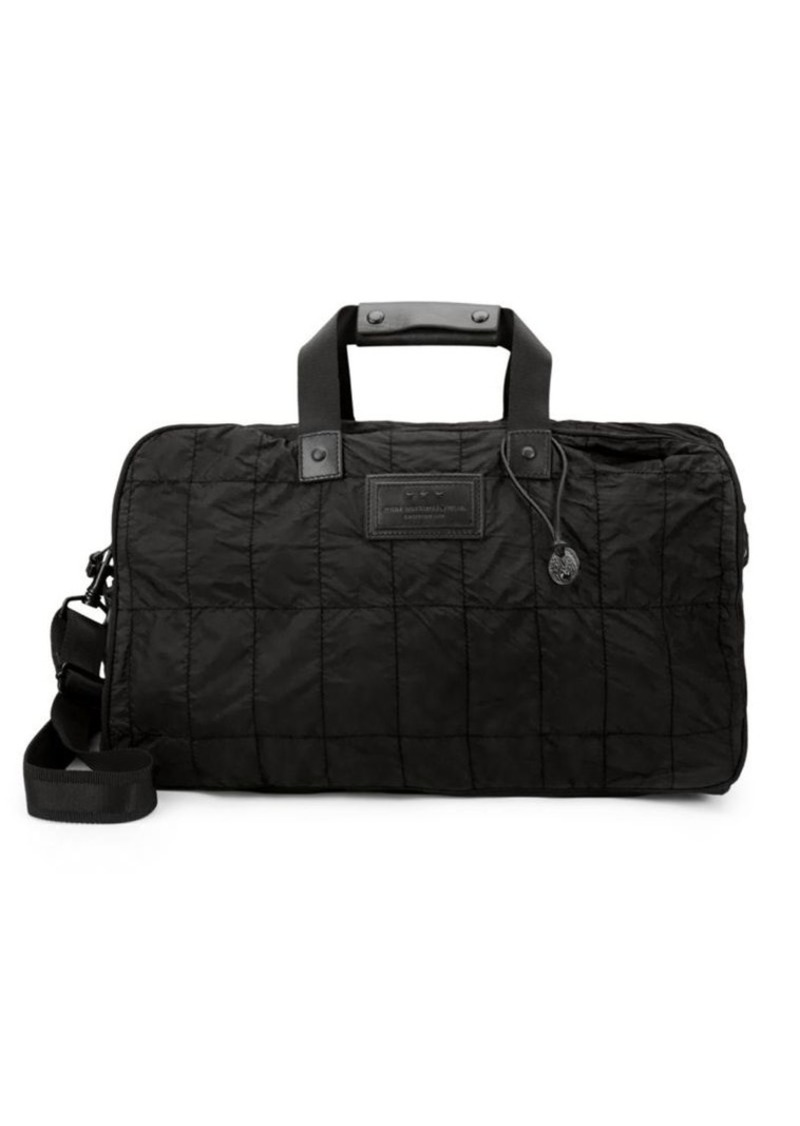John Varvatos Quilted Nylon Duffle Bag